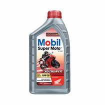 Kit C/10 Mobil 10w30 Óleo Moto 4t Authentic Mx Api Sl Honda