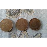 3 Monedas Error Chiie Año 2008 Por $ 5.000
