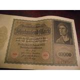 Billetes Antiguos Marcos Alemanes 1922