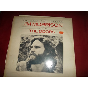 Jim Morrison An American Prayer Inglaterra Ano 78 Caa Dupla