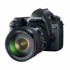 Canon 6d 24-105 L Is Usm (wg) -20,2 Mpx-full Hd-gps-wifi