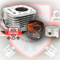 Kit Potencia Pistao Cilindro Cg 125cc Pra 150cc Mibr Kits