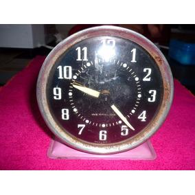 Reloj Despertador Antiguo Westclox Para Reparar No Funciona