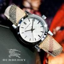 Wow!! On Sale!!! Hermoso Reloj Burberry 100% Original