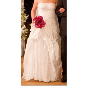 Vestido De Noiva Tomara Que Caia Usado Só Uma Vez C/ Brinde