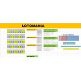 Tabela Lotomania - Sistema De Blocos