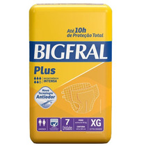 Fralda Bigfral Plus Xg - C/ 28 Und + Barato Da Internet