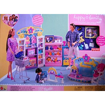 Juguete Barbie Happy Family Tienda Baby Playset (2002)