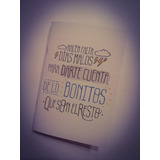 Cuaderno Tapa Blanda 10x15 Abrochado Personalizado