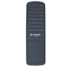 Controle Remoto Para Receptor Parabólica Tecsat R3200