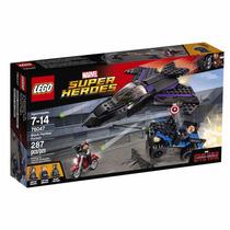 Educando Lego Super Héroes 76047 Persecusión Pantera Negra