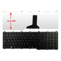 Teclado Para Laptop Toshiba C655-spst04m Negro Español Daa