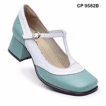 Sapato Boneca Estilo Retro Nr.39 (palmilha Sistema Comfort)
