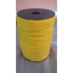 Corda/cordão 3mm Amarelo 450 Mts/aprox Ideal Para Roupas