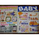Lote X 4 Revistas Bordado Punto Cruz Baby Labores De Ana Pal