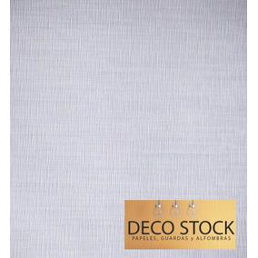 Papel Vinilico Texturado Gris Alilado Muresco Madras 4301/2