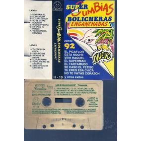 Super Cumbias Bolicheras Enganchadas Exitos 92 Cassette