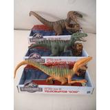 Lote 3 Velociraptor Dinosaurio Jurassic World Park