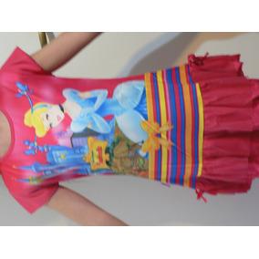 Vestido O Camison Disney Princesa T 8 Años Xl A Estrenar