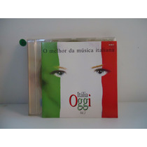 Cd Itália Oggi Vol.2 - O Melhor Da Música Italiana