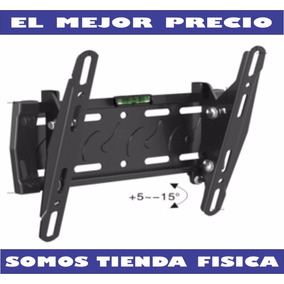 Base De Pared Tv, Lcd, Led, Plasma 14 A 40 Inclinable Rc-966