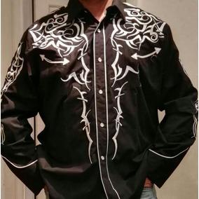 Camisa Bordada Mexicana El Señor De Los Cielos