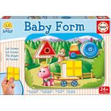 Juego Didáctico Y Motriz Para Niños Educa Baby Forms 15862
