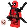 Genial Figura Sw14 Deadpool Movie Marvel Compatible Con Lego