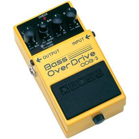 Pedal Para Baixo Boss, Bass Overdrive Odb-3
