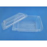 Bandejas Plásticas Nº 103 Apta Microondas Con Tapa (x 100)
