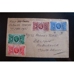 Classic British Stamps - The 1935 Silver Jubilee Prussian