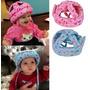Casco Protector Cabezas Bebe Seguridad Caídas Azul Y Rosa