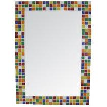 Espejo Con Venecitas 80 X 60cm. Ideal Baño/ Decoracion