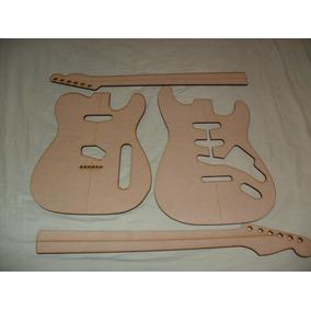 Plantillas Strato Fender Cuerpo Mango Neckpocket Y Tremolo
