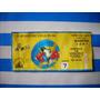Antiguo Boleto Futbol Club America Liga 95-96 Coleccion