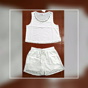Conjunto Short Blusa Para Mujer Sexy Playa Verano Crop Top