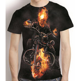 Camisa Filme Camiseta Motoqueiro Fantasma - Estampa Total