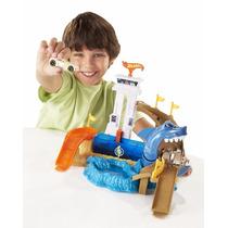 Pista Hot Wheels Color Change Ataque Tubarão Mattel (52804)