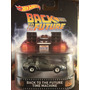Hot Wheels Retro Time Machine Back To The Future Delorean