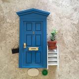 Puerta Magica Raton De Los Dientes Mod. Italiano Azul Holand