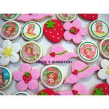 Cookies, Galletitas Decoradas. Serie Frutillitas (por Docena