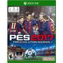 Pes 2017 Xbox One Original Físico Nuevos En Caja Cerrada