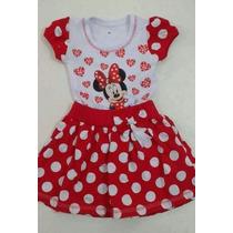 Vestido Infantil Minnie - Roupa/fantasia