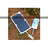 Painel Solar Carregador Usb 10w Reg 5v 1200ma Celular Tablet