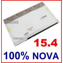 Tela Lcd 15,4 Polegadas Widescreen Brilhante Para Notebooks