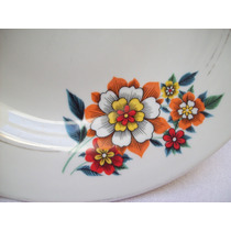 Prato Fundo Porcelana Santa Rosa-pedreira Sp
