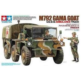 Tamiya - 1/35 Us 6x6 M792 Gamma Goat Ambulance Truck
