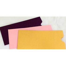 Sobres Ticket 8x17 Cm Varios Colores Perlados Y Opacos