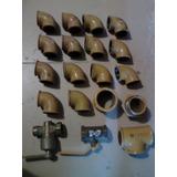 Gas Llave Paso Codos Tee Entrerrosca 1 1/4, 2 1 1/2 Permuto