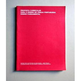 Proposta Curricular - L. Portuguesa - Ens. Fundamental